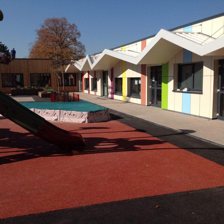2017 : Extension école maternelle Brant - Colmar