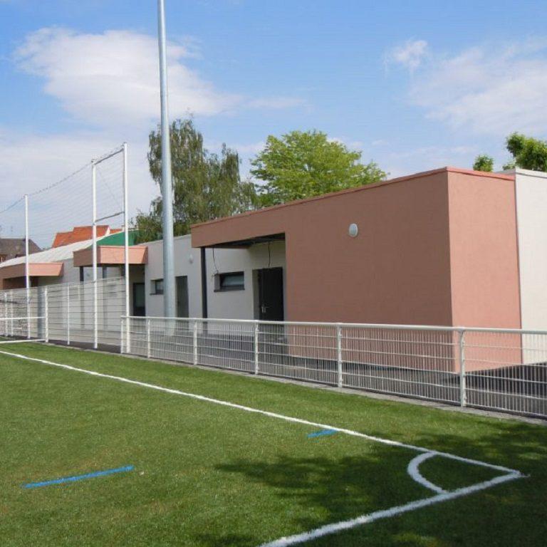 2011 : Stade municipal de Sélestat - Vestiaires