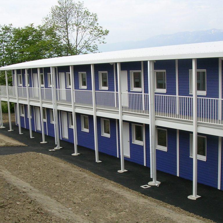 2005 : Hébergements demandeurs d'asile - Induni - Suisse